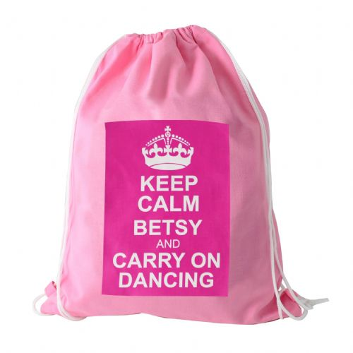 Pink Keep Calm Kit Bag